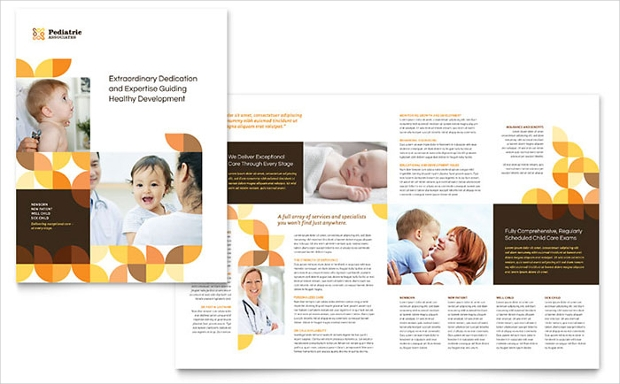 Pediatric Doctor Brochure Design