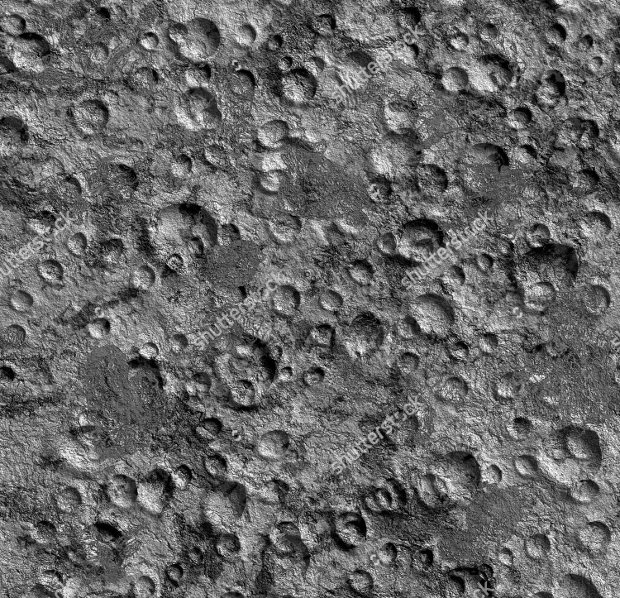 Moon rock Seamless Texture