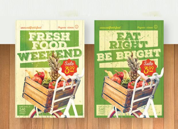 22 Grocery Flyer Templates Printable Psd Ai Vector