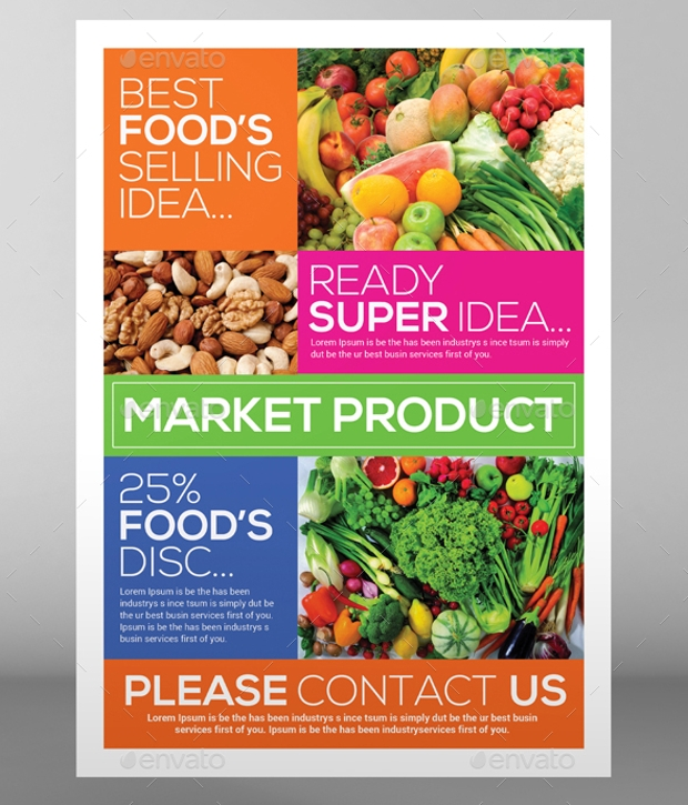 Super Market Products Flyers