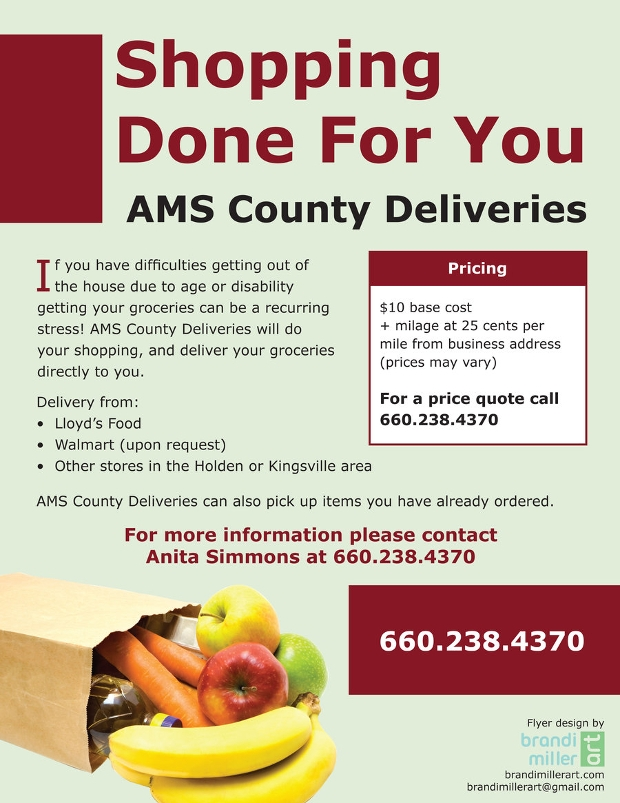 Grocery Delivery Flyer