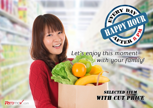 Happy Hour Supermarket Flyer