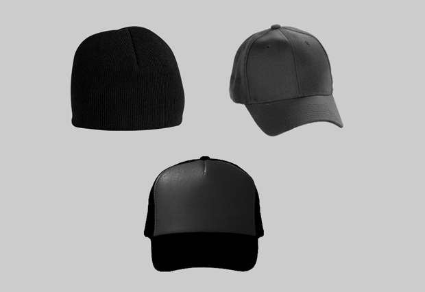 black hat mockup template