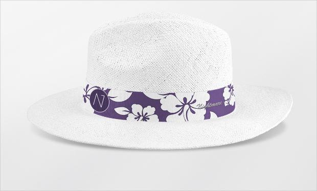 panama hat mockup
