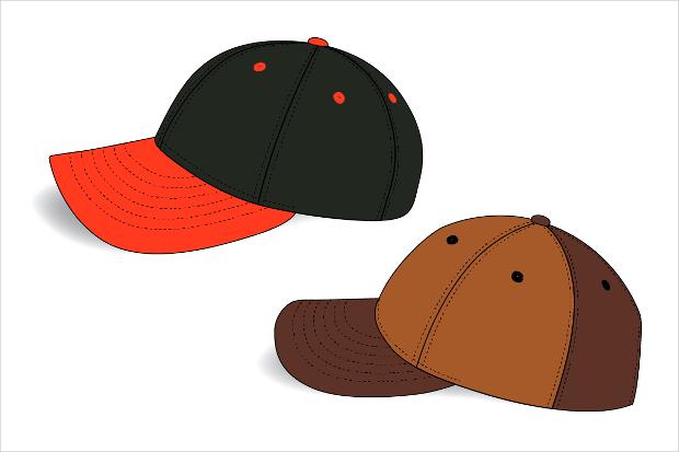 panel hat mockup