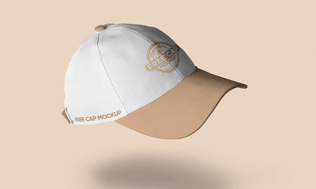 free baseball cap mockup