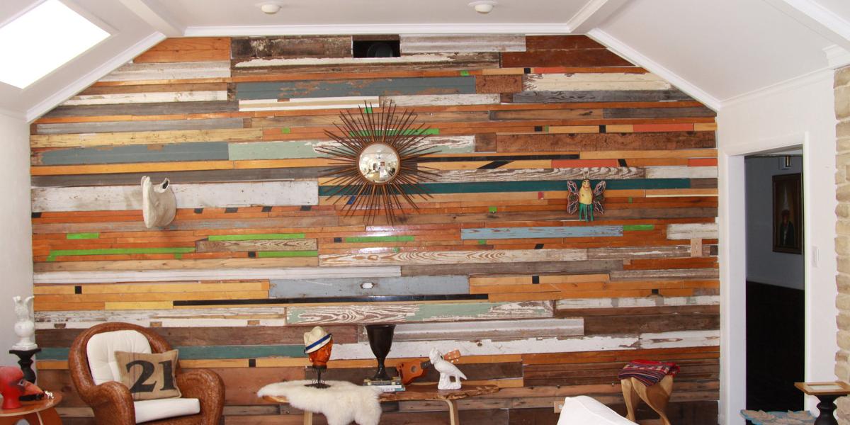 reclamied wood