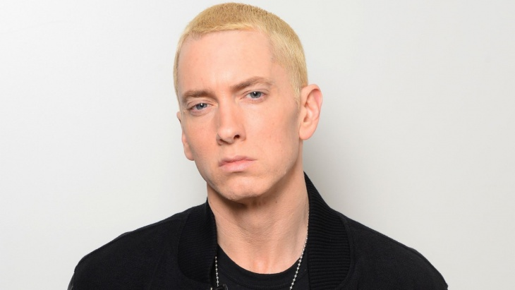 eminem stylish crew cut
