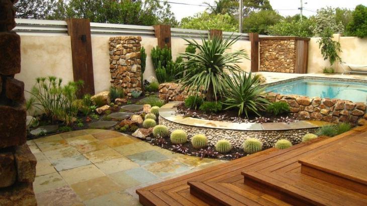 Backyard Cactus Garden 16+ cactus rock garden designs, ideas | design trends - premium psd