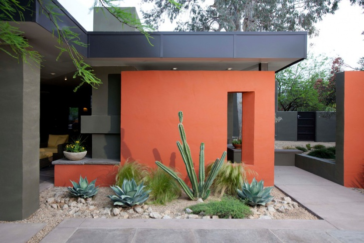 Wonderful Small Cactus Garden Design