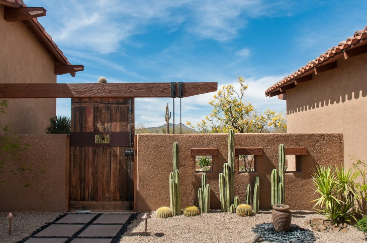 16 Cactus Rock Garden Designs Ideas Design Trends