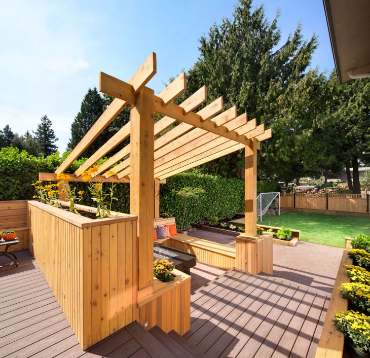 18 Wooden Pergola Designs Ideas Design Trends