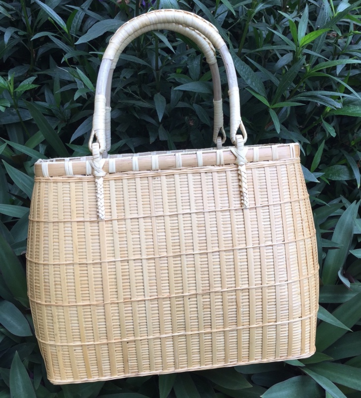 Handcrafted Bamboo Bag Idea