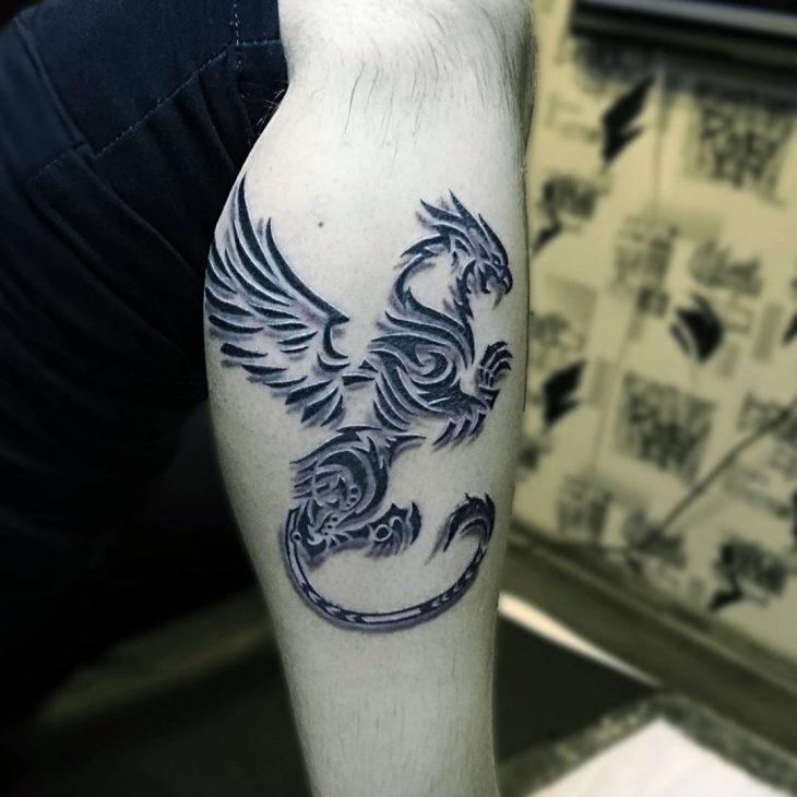 Trible Griffin Tattoo
