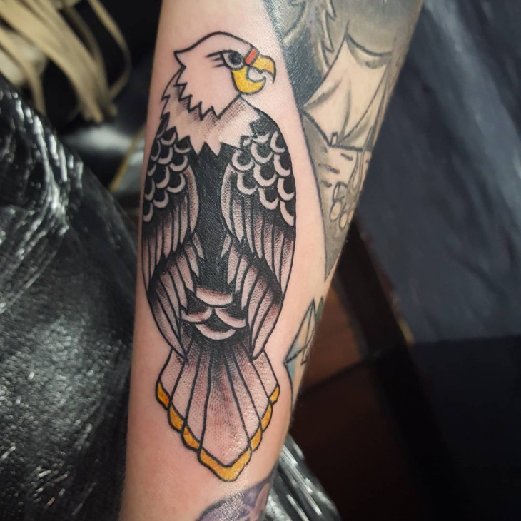 bird griffin tattoo