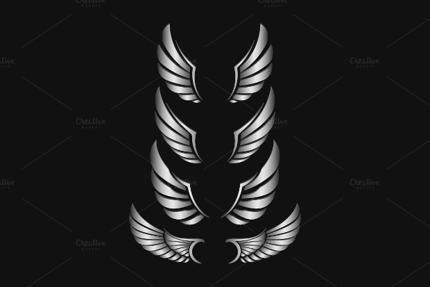 Wings Vector Design
