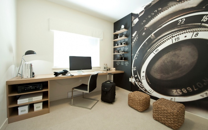 home office decorating idea