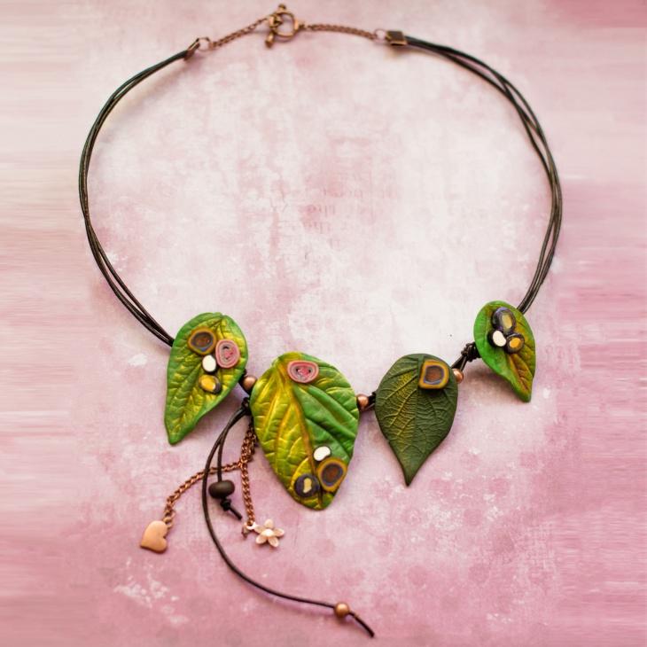 Leaf Choker Necklace