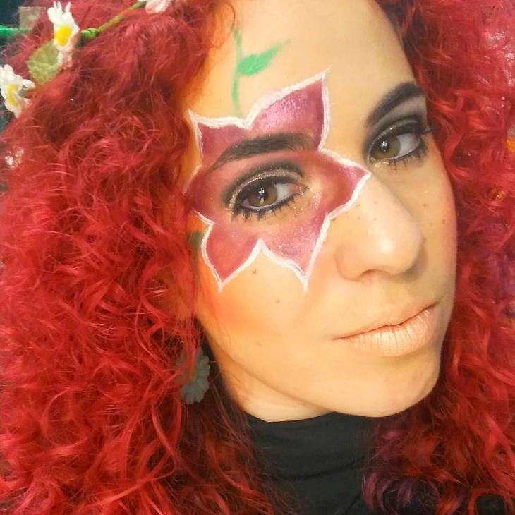 Hippie Eye Makeup Design