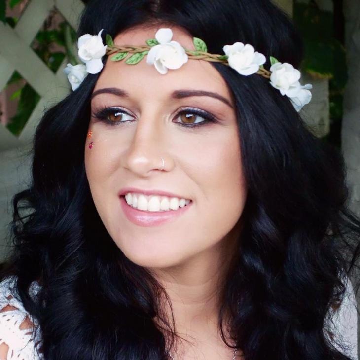 simple hippie makeup