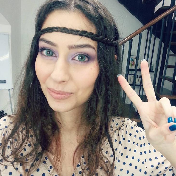 Eye Hippie Makeup Idea