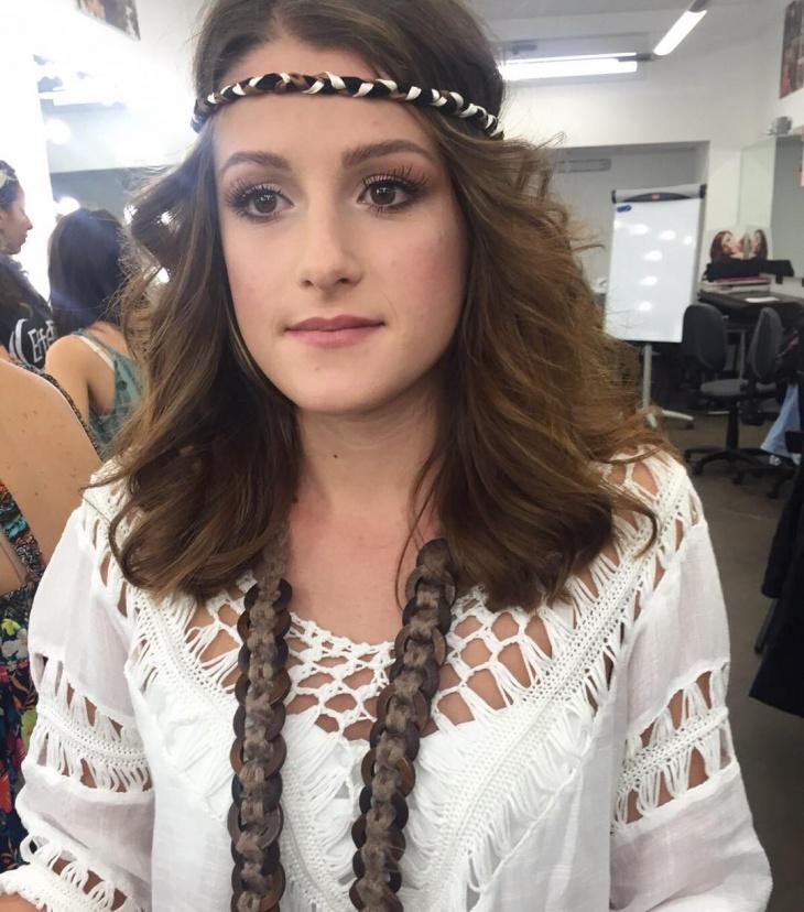 trendy hippie makeup idea