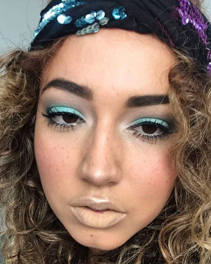 Blue Eye Makeup Design