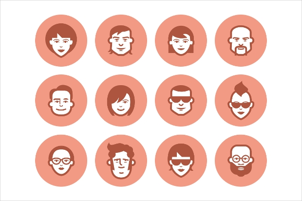 Avatar Faces Icons