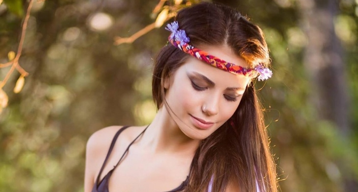 21 Hippie Makeup Designs Trends Ideas Design Trends