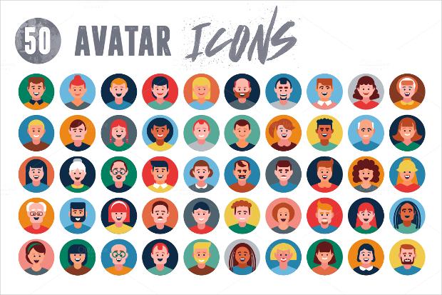 High Resolution Avatar Icons