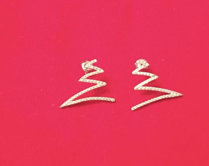 Cute Geometric Earrings Idea