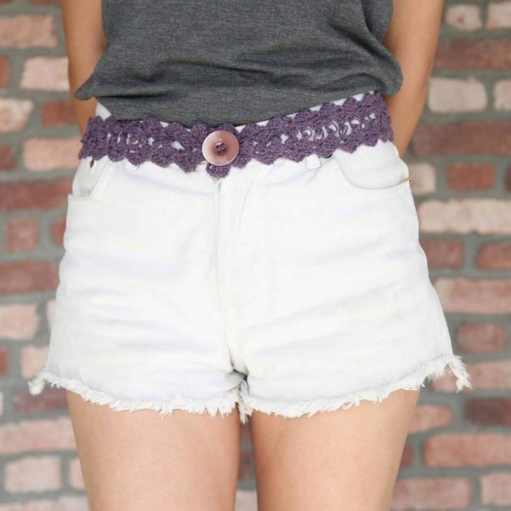 Crochet Pattern Belt