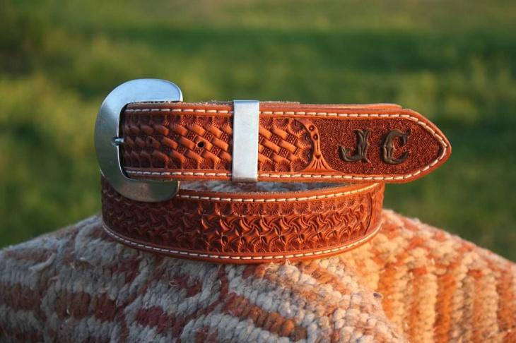 Custom Handmade Pattern Belt