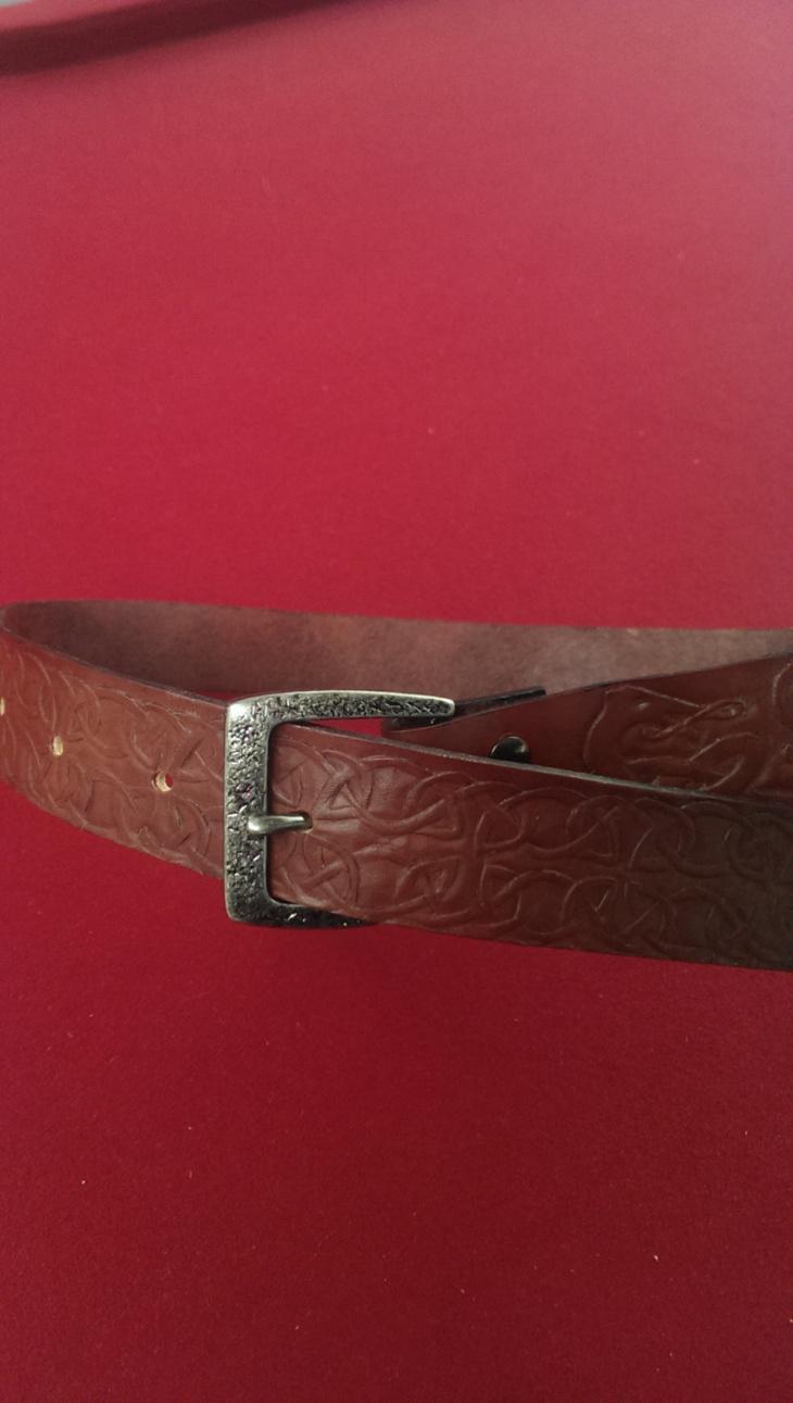 Celtic Leather Belt Design