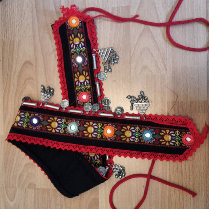 Womens Tribal Pattern Belt