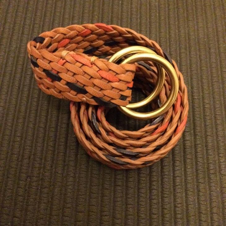 Braided Pattern Belt Design