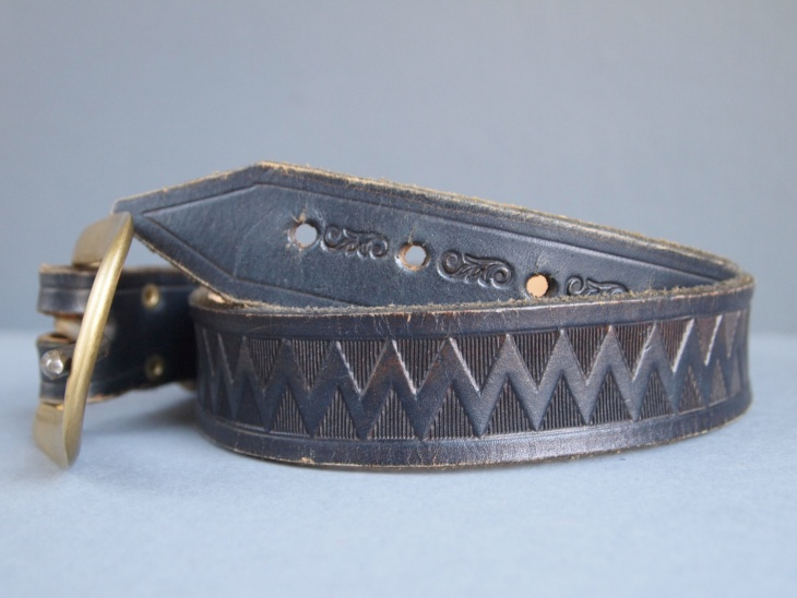 Black Tribal Belt Idea