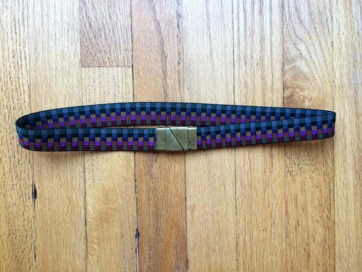 Simple Pattern Belt for Women