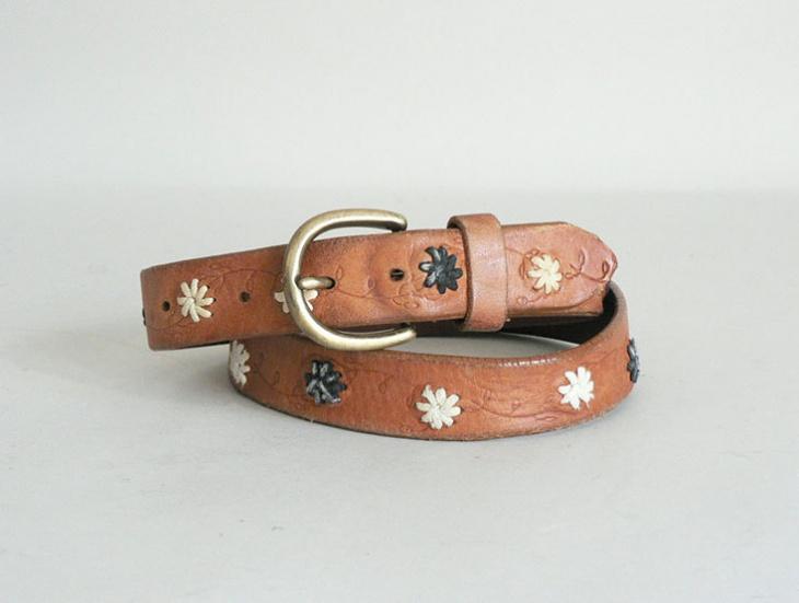 Unique Womens Leather Belt