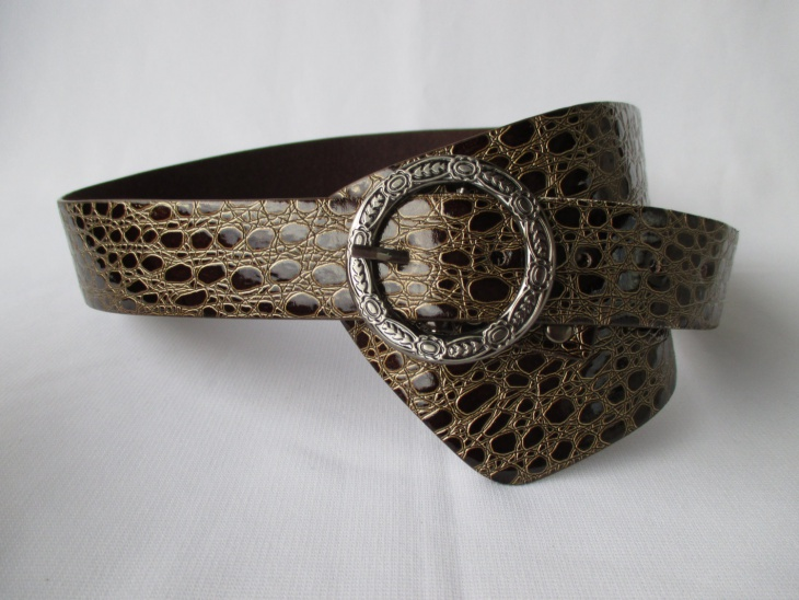 Snake Skin Pattern Belt