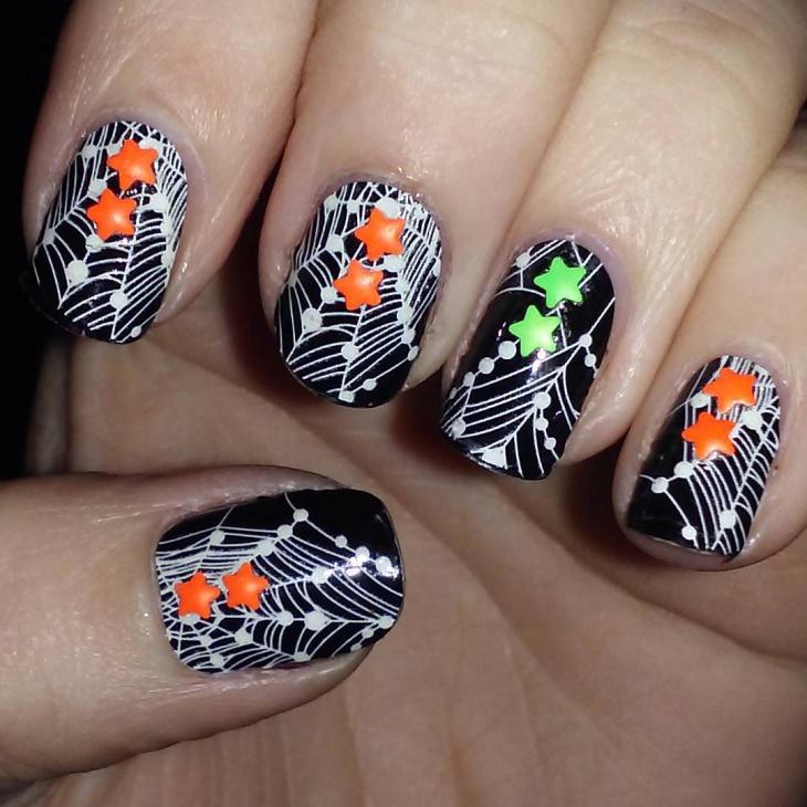 21+ Spider Web Nail Art Designs, Ideas | Design Trends - Premium ...