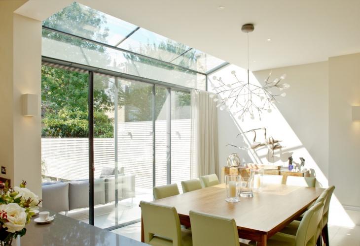 Dining Room Glass Skylight