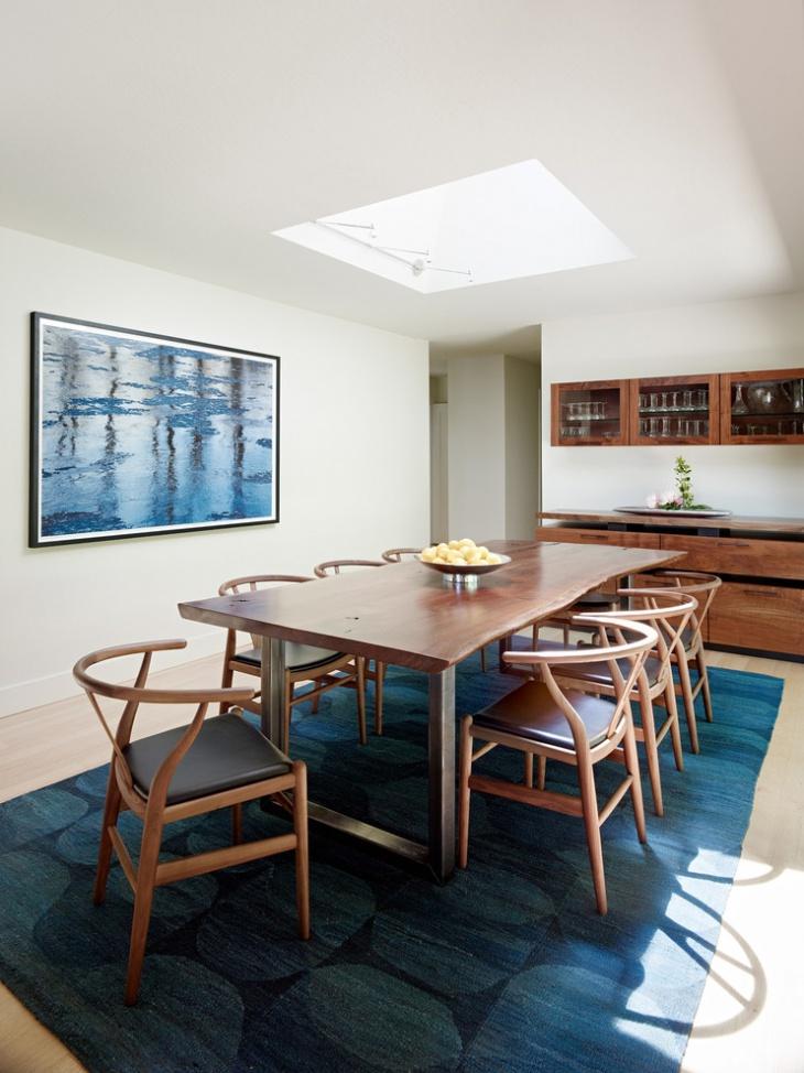 Small Skylight Dining Room