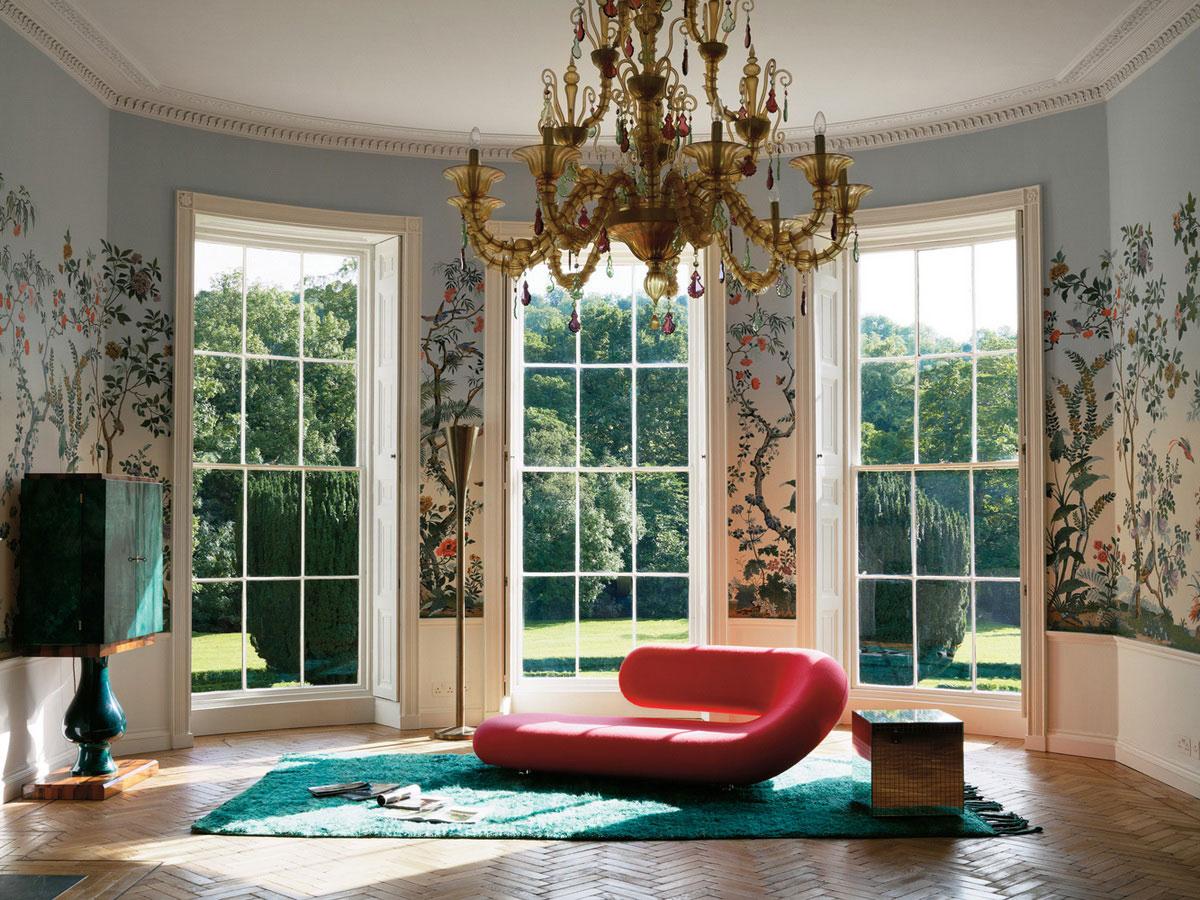 Minimal Floral interiors