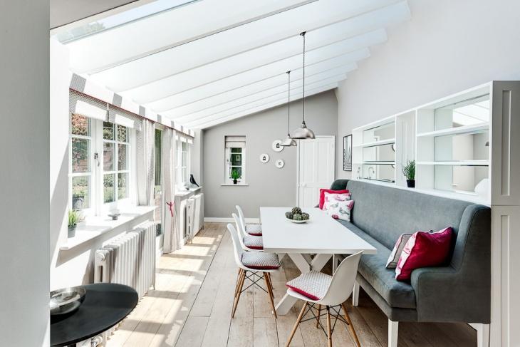 Cool Dining Room Skylight