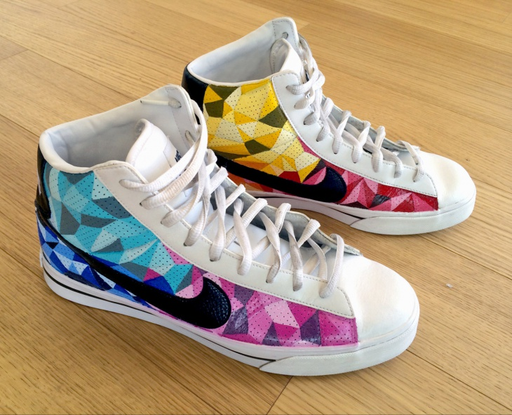Custom Graphic Shoes