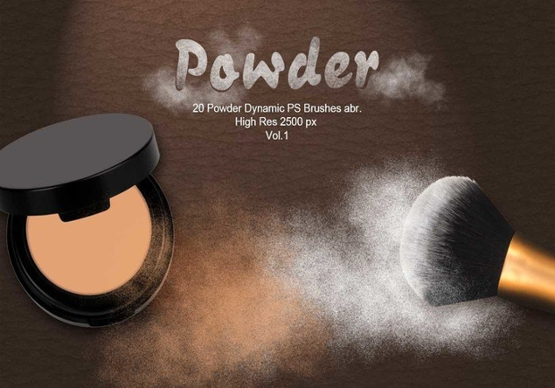 dynamic powder brushes