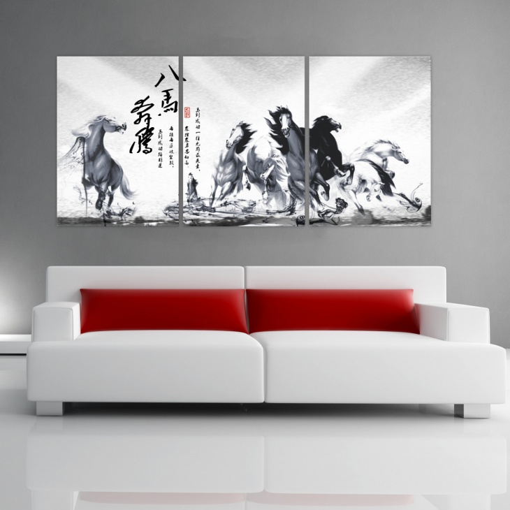 chinese wall painting