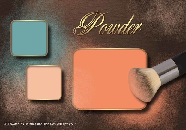 powder ps brushes pack