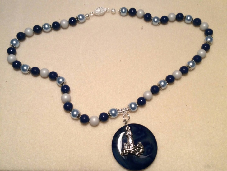 Pearl Lighthouse Pendant